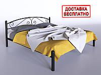 Кровать металлическая двуспальная Виола
