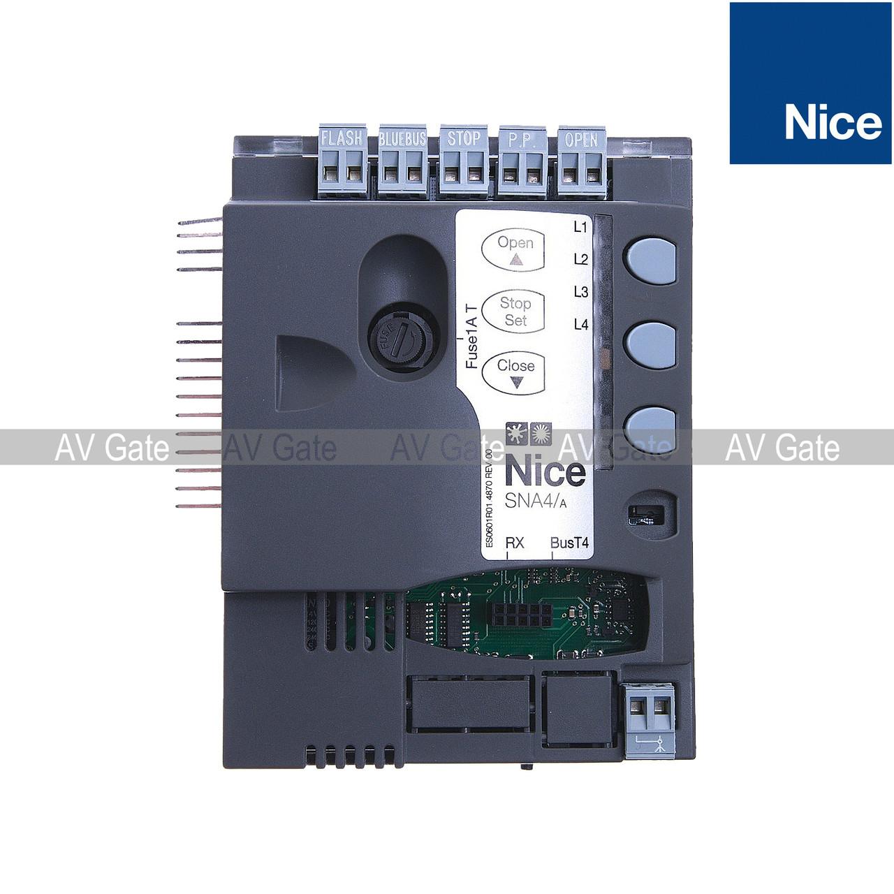 Плата управления SPIN Nice SNA4/A