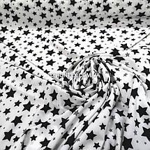 Супер- софт принт звезды на белом, фото 3