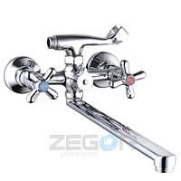 Смеситель для ванны ZEGOR DST7-A827