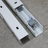 Консоль откидная 400 мм. белая, для раскладного стола., фото 6