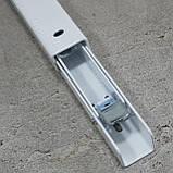 Консоль откидная 400 мм. белая, для раскладного стола., фото 8