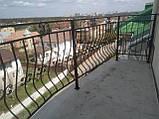 Простые кованые ограждения для балконов, террас, беседок, фото 2