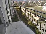Простые кованые ограждения для балконов, террас, беседок, фото 3
