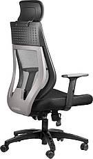Офисный стул Barsky TBG-01 Team Black/Grey, сетка, фото 3