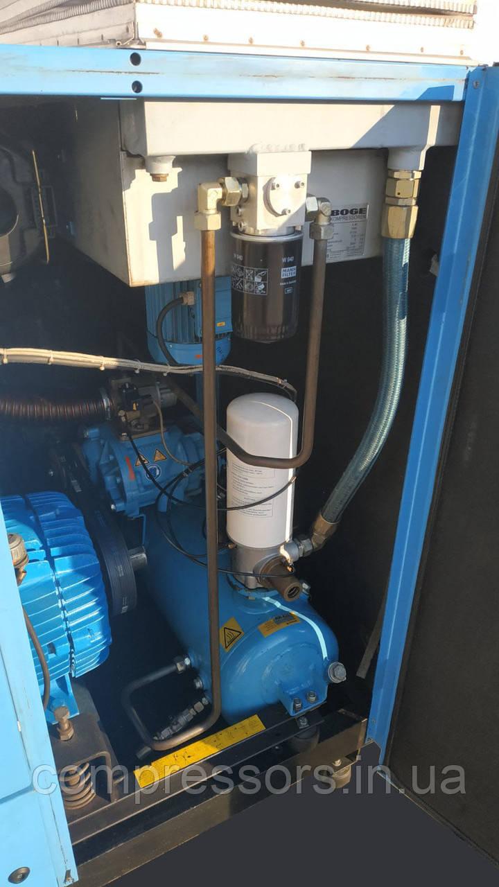 Винтовой компрессор Boge S40 - 5050 л/мин - 8 бар - 30 кВт - бу из Германии, фото 3