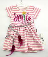 Детское платья 1 2 и 3 года для девочки детские платья летние хлопок на девочку, фото 1