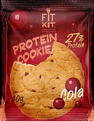 Протеиновое печенье Fit Kit  Кола  (40 грамм)