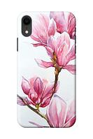 Чехол «Розовый цветок» для Iphone XR Силиконовый