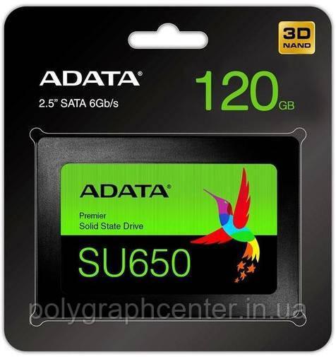 "SSD Накопитель ADATA 120GB 2.5"" Ultimate SU650"