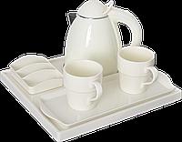 Чайная станция, набор A-H0880S Ivory (0,8 л) для гостиниц, фото 1