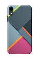 Чехол «Панели» для Iphone XR Силиконовый