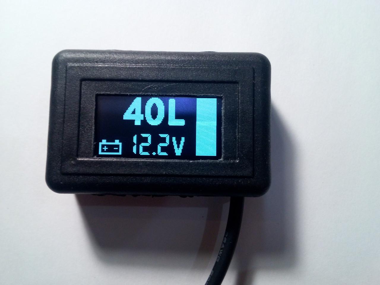 Покажчик рівня палива (бензин, дп, газ) цифровий УУТ-5 - фото 3