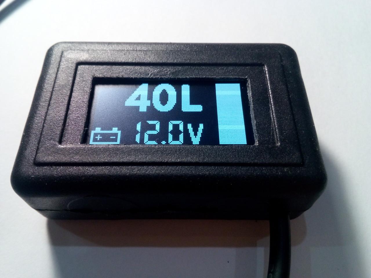 Покажчик рівня палива (бензин, дп, газ) цифровий УУТ-5 - фото 2
