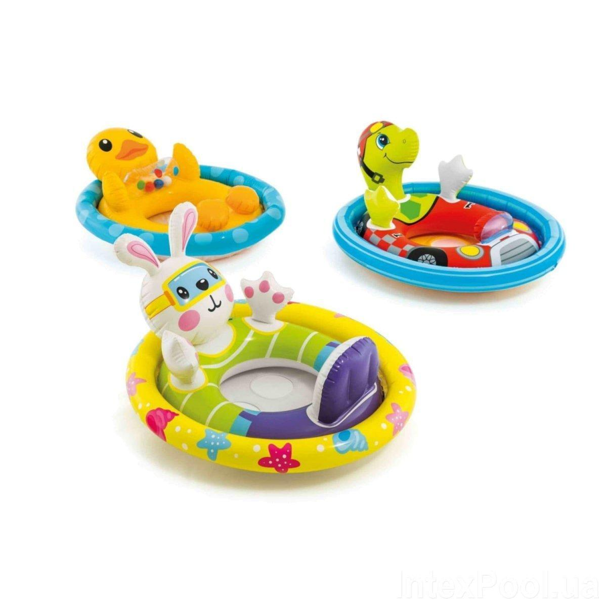 Надувной круг игрушка Intex 59570 71х58см