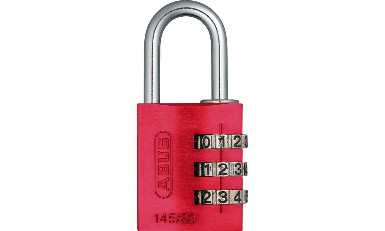 Замок навісний ABUS 145/30 Combination Lock Red