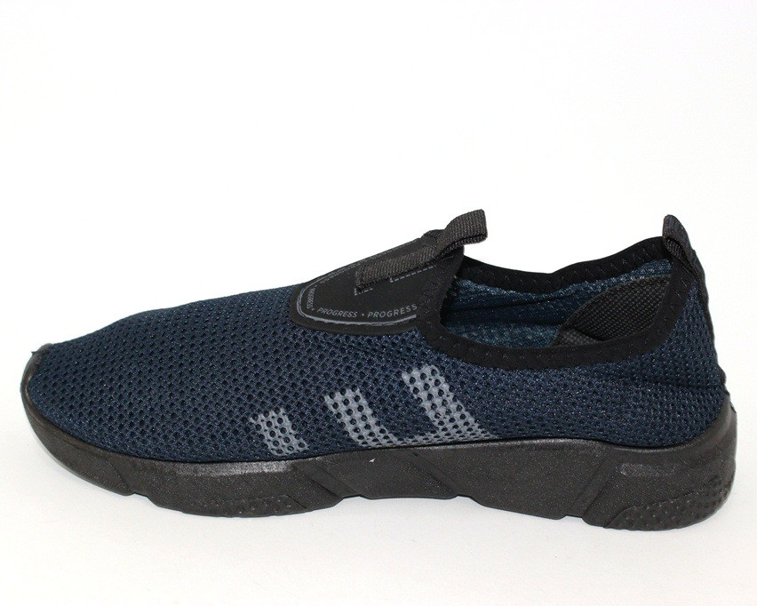 Стрейчевые мужские слипоны, мужские кроссовки сеткой