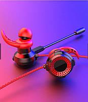 ПРОВОДНЫЕ НАУШНИКИ С МИКРОФОНОМ  HANDSFREE Gaming YESPLUS GM-101, фото 1