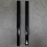Консоль откидная 400 мм. черная, для раскладного стола., фото 6
