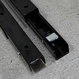 Консоль откидная 400 мм. черная, для раскладного стола., фото 5