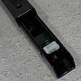 Консоль откидная 400 мм. черная, для раскладного стола., фото 7