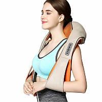 Массажер роликовый Massager of Neck Kneading для шеи и спины