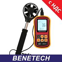 Прибор для измерения силы ветра 0,8-45м/с, -10-45°C BENETECH GM8901X