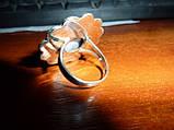 Перстень з великим ларимаром і опалами, фото 4