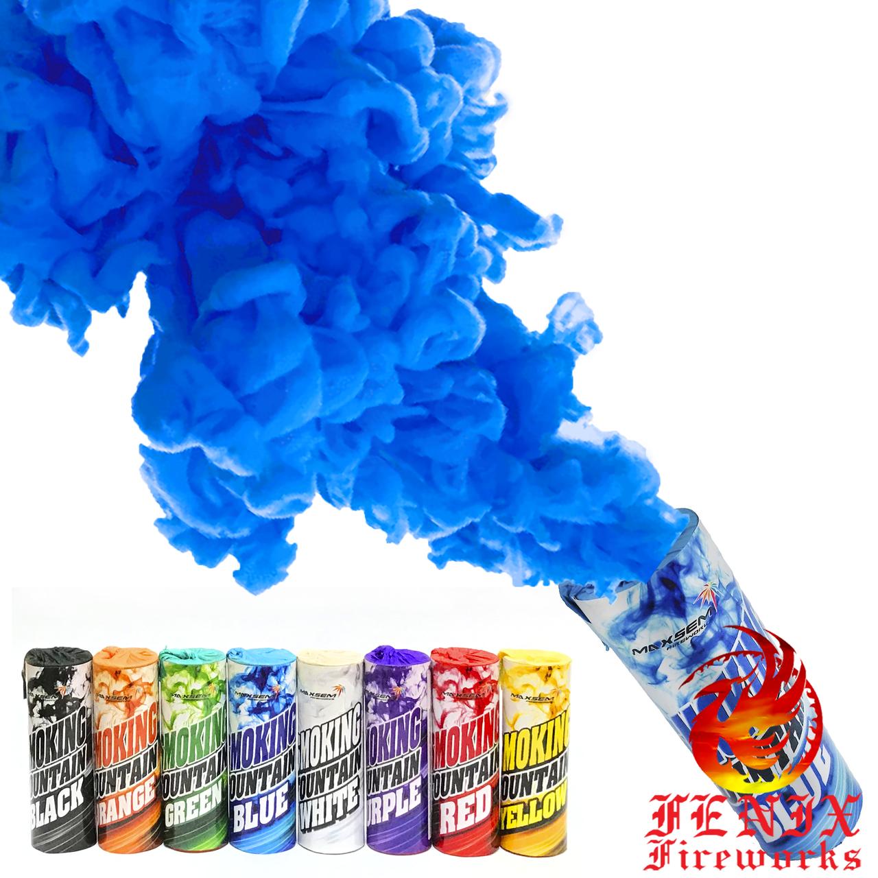 ЦВЕТНОЙ ДЫМ СИНИЙ (Дымовая шашка) Smoke Bombs 30секунд MA0509/B