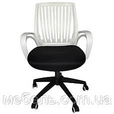 Компьютерное детское кресло Barsky Office plus White/Black OFW-01, фото 3