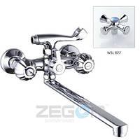 Смеситель для ванны ZEGOR T63-DML-A827