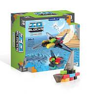 Детский конструктор для мальчиков Guidecraft IO Blocks Самолеты и корабли 59 деталей