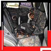 Автогамак  для собак в авто. Трансформер 4в1. Авточехол для перевозки собак. DOX DABL Hunter