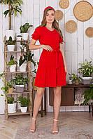 Платье длиной мини (3 расцветки)