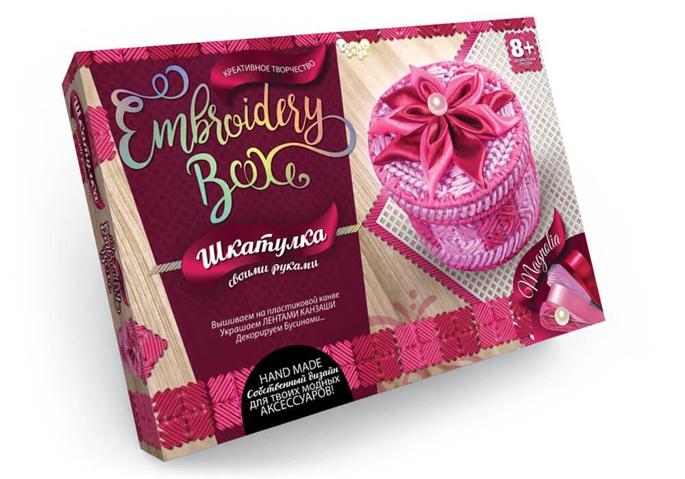 "Набор для творчества. Шкатулка ""Embroidery Box"