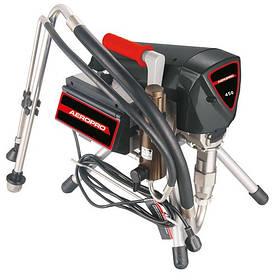 Безповітряний розпилювач фарби з фарбувальним пістолетом 2.2 кВт, 220В, 3.2 л/хв AEROPRO R520