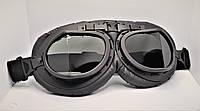 Ретро мото очки KSmoto GL-12 (затемненные линзы) \ Код KS05016