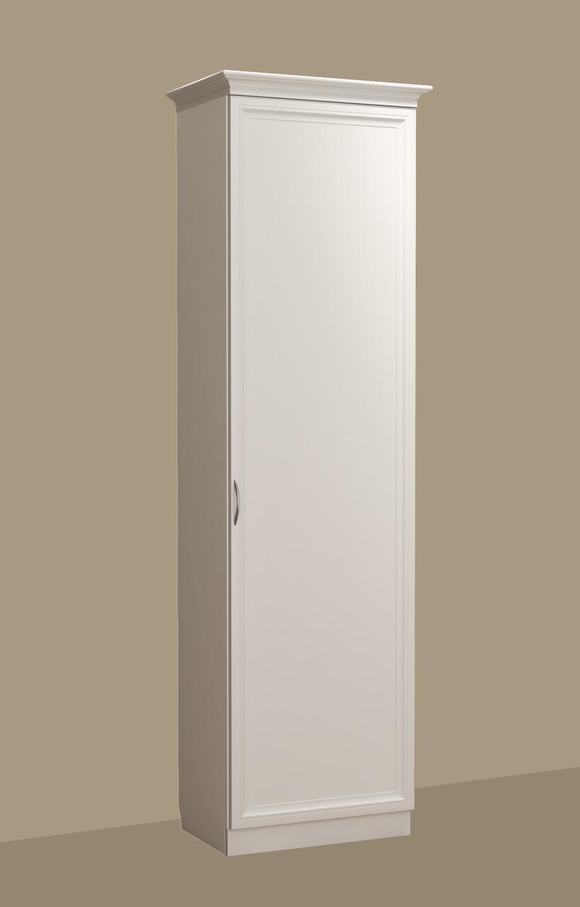 Шкаф с фасадом МДФ в прихожую (220х37х60 см)