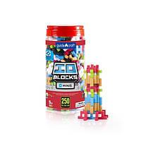Детский 3D конструктор Guidecraft IO Blocks Minis 250 деталей