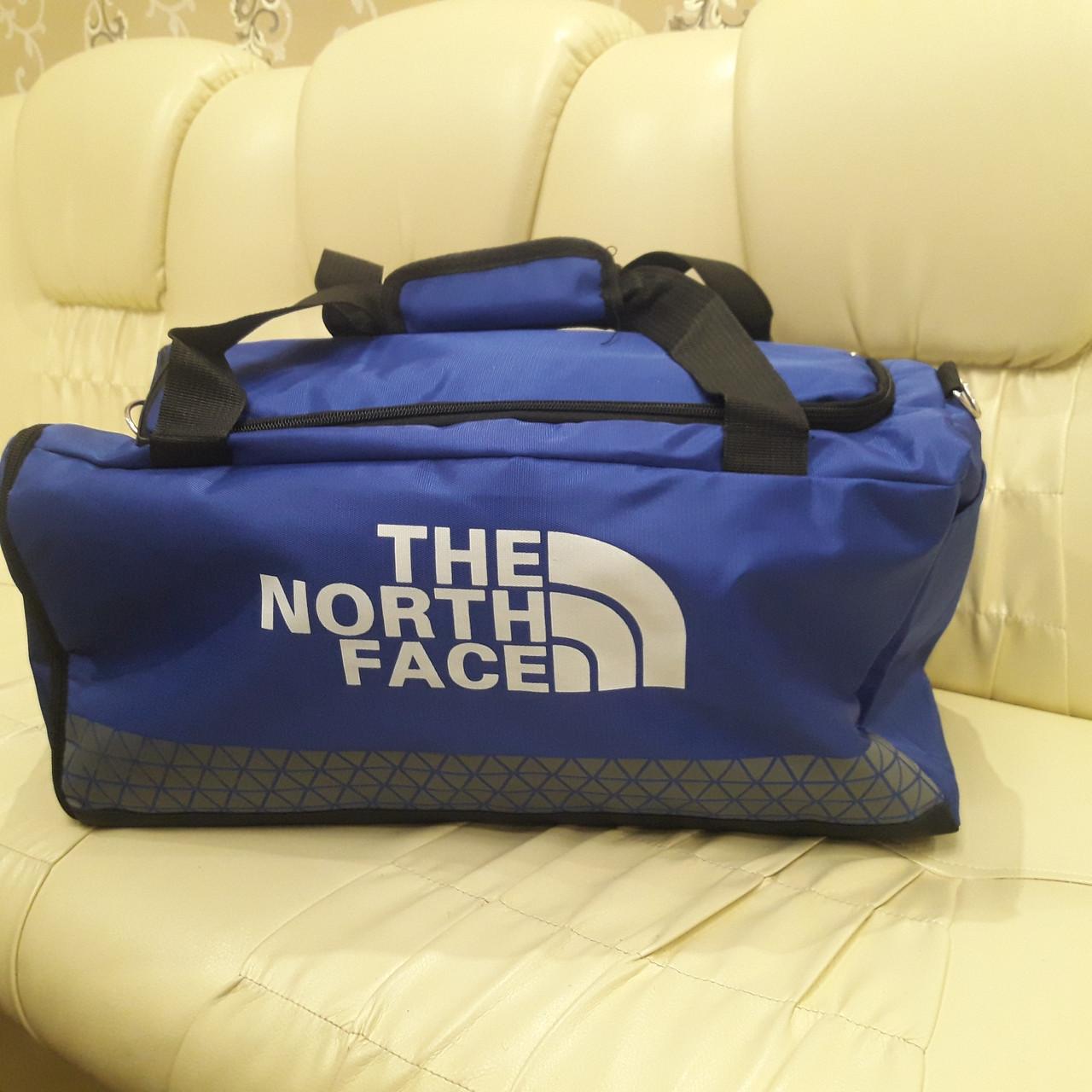 Спортивная мужская сумка синяя