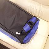 Спортивная мужская сумка синяя, фото 5