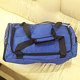 Спортивная мужская сумка синяя, фото 4