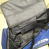 Спортивная мужская сумка синяя, фото 7