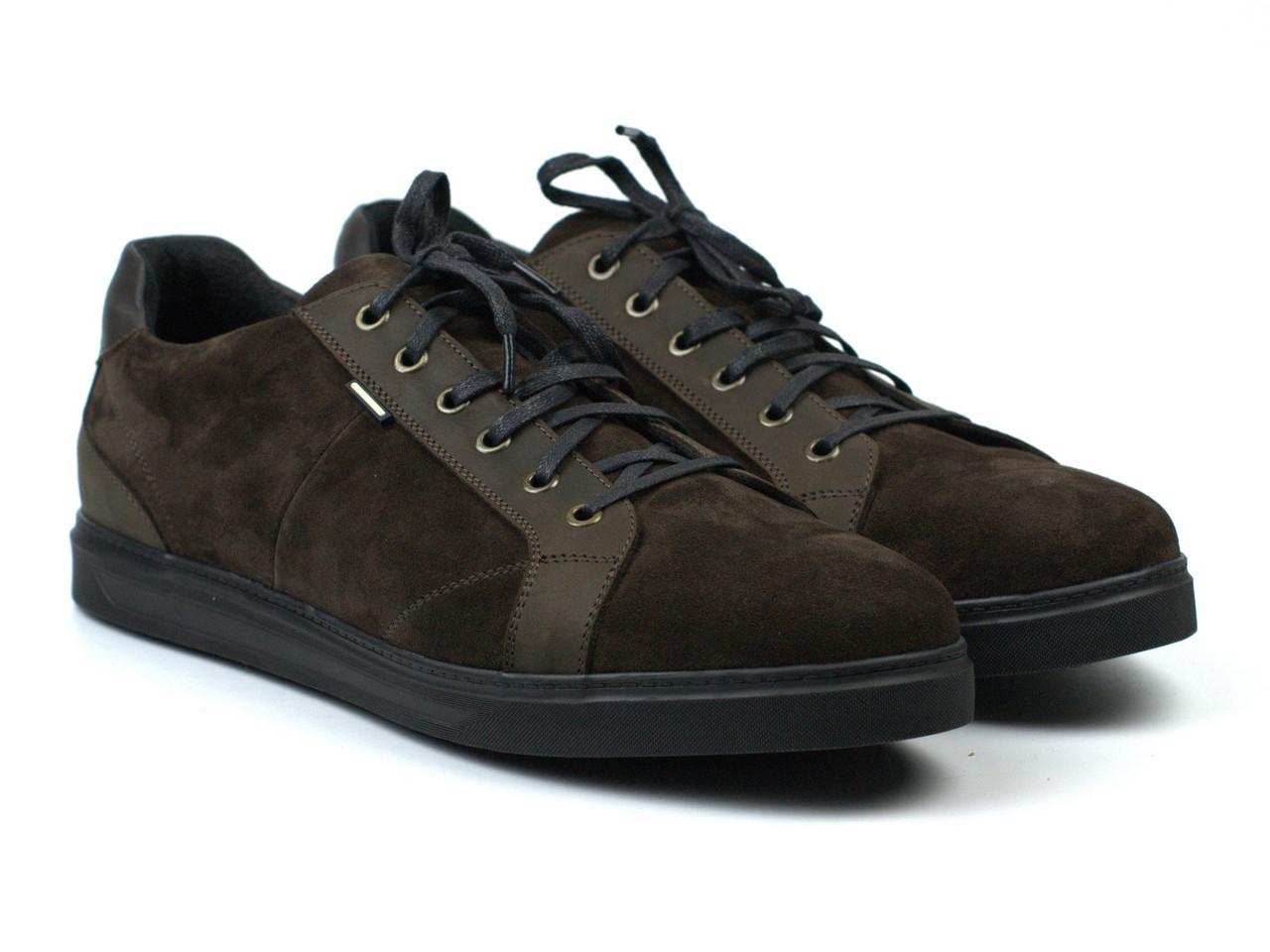 Коричневые кроссовки замшевые кеды мужская обувь Rosso Avangard Puran Brown Vel