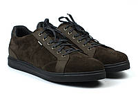 Коричневые кроссовки замшевые кеды мужская обувь Rosso Avangard Puran Brown Vel, фото 1