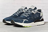 Кроссовки мужские 17294, Adidas Nite Jogger , темно-синие, < 41 42 43 44 45 46 > р. 41-25,2см., фото 2