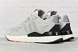 Кросівки чоловічі 17295, Adidas 3M, сірі, < 41 42 43 44 45 46 > р. 41-25,2 див., фото 4