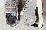 Кросівки чоловічі 17295, Adidas 3M, сірі, < 41 42 43 44 45 46 > р. 41-25,2 див., фото 5
