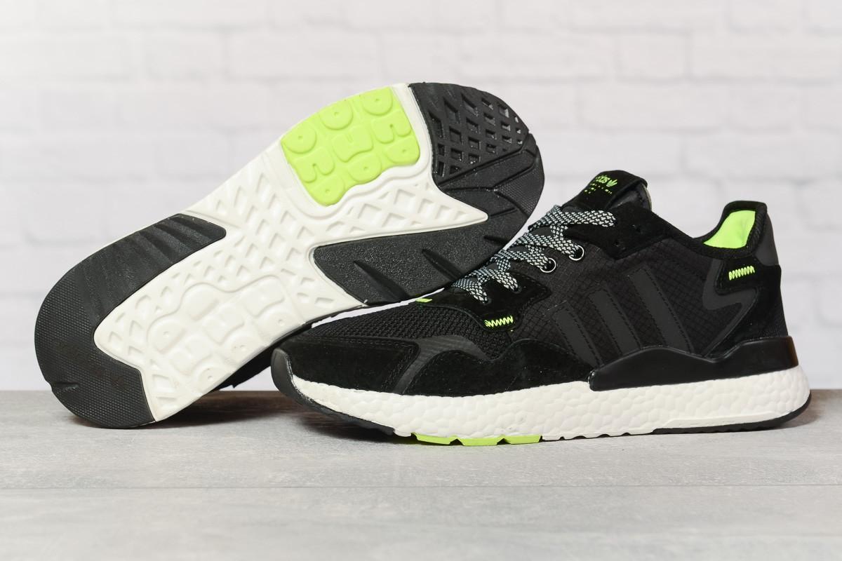 Кроссовки мужские 17298, Adidas 3M, черные, < 41 42 43 44 45 46 > р. 41-25,2см.
