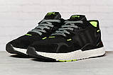 Кроссовки мужские 17298, Adidas 3M, черные, < 41 42 43 44 45 46 > р. 41-25,2см., фото 2